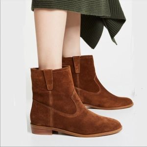 Rebecca Minkoff Chasidy Suede Ankle Boots Sz 7